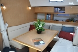 Curlew Escape Saloon Table Southern Cross Yachting charter