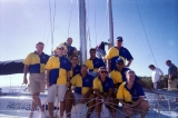 Brisbane to Gladstone race crew 2004 Southern Cross Yachting