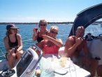 Lunch at Horsehoe Bay Southern Cross Yachting charter