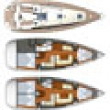 Jeanneau 36 layouts Southern Cross Yachting charter