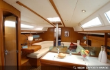 Jeanneau 36 interior Southern Cross Yachting charter