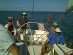 Brisbane to Airlie Beach offshore trip Southern Cross Yachting