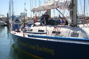 Boat handling course on board Oceans