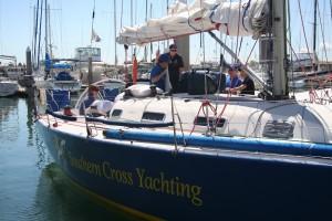 Boat handling course on board Oceans